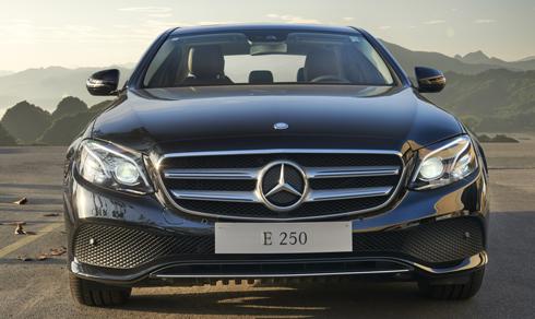 Mercedes-Benz sắp ra mắt E250 2017 tại Việt Nam